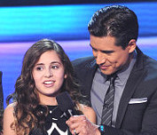 Carly Rose Sonenclar advances to the finals on THE X FACTOR. CR: Ray Mickshaw / FOX.