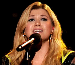 Kelly Clarkson topped two year-ending Billboard charts. (AP Photo)