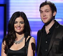 Phillip Phillips at the American Music Awards. (AP Photo)