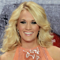 Carrie Underwood at the American Country Awards earlier this month. (AP Photo)