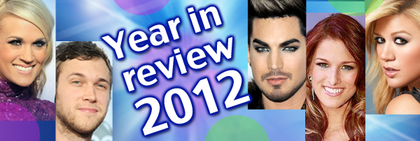 A week-long look back at singing shows in 2012.
