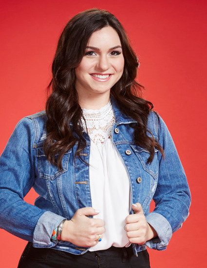 Abby Celso of The Voice Season 10 (NBC Photo)
