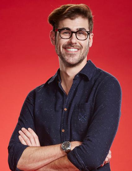 Ryan Quinn of The Voice Season 10. (NBC Photo)