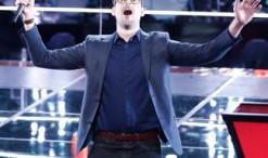 Ryan Quinn saved on The Voice Season 10. (NBC Photo)