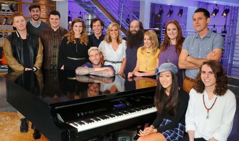 Team Adam Season 10 of The Voice. (NBC Photo)