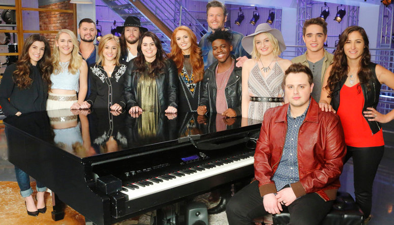 Team Blake Season 10 of The Voice. (NBC Photo)