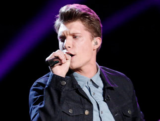 Daniel Passino performs on The Voice