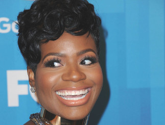 Fantasia at the Season 15 American Idol finale.