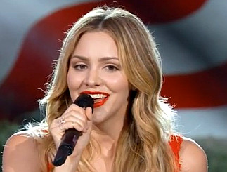 Katharine McPhee at PBS Memorial Day concert 2016