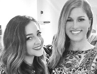 Alisan Porter and Cassadee Pope at A Capitol Fourth