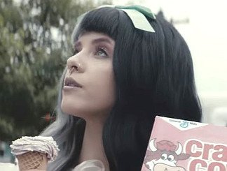 Melanie Martinez in her Tag You're It music video