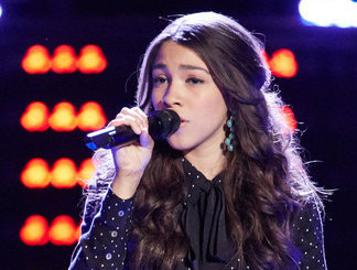 Halle Tomlinson of The Voice Season 11 (NBC Photo)