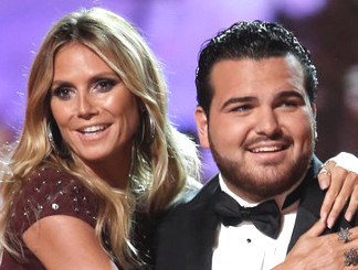 Heidi Klum with Sal Valentinetti on America's Got Talent Season 11 (NBC Photo)