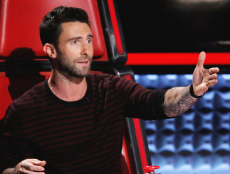 Adam Levine shares his thoughts on Season 11 of The Voice. (NBC Photo)