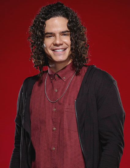 Johnny Rez of The Voice Season 11 (NBC Photo)