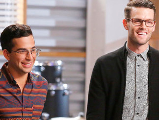 Michael Sanchez and Dave Moisan of The Voice Season 11 (NBC Photo)