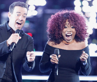 Sa'Rayah from The Voice Season 11 (NBC Photo)