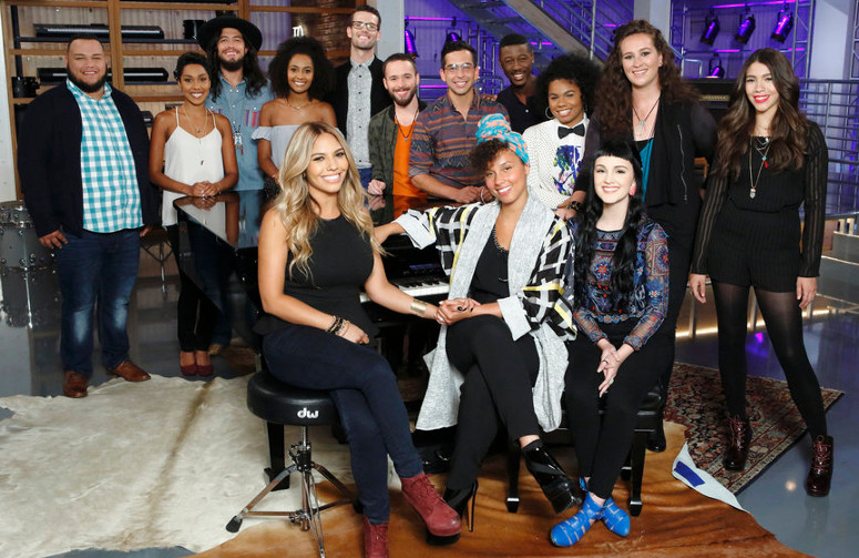 Team Alicia on The Voice Season 11 (NBC Photo)