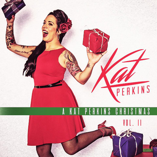 Kat Perkins from Season 6 of The Voice has released her second EP of Christmas music.