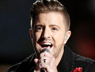 Billy Gilman during The Voice semifinals.