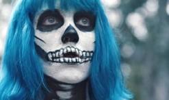 """Joey Cook of American Idol Season 14 in her video for """"Bones."""""""
