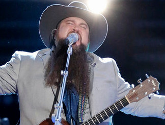 Sundance Head performs on the finals of The Voice. (NBC Photo)