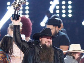 Sundance Head after winning The Voice Season 11. (NBC Photo)