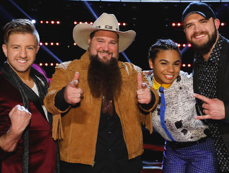 Billy Gilman, Sundance Head, We McDonald and Josh Gallagher of The Voice Season 11