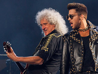 Adam Lambert and Queen's Brian May