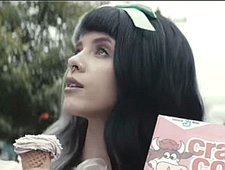 Melanie Martinez in the Tag You're It music video