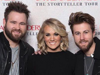 The Swon Brothers with Carrie Underwood