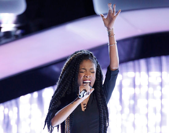 Autumn Turner opened night two of the blind auditions of The Voice with a four-chair turn peformance. (NBC Photo