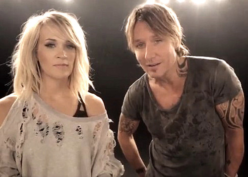 Carrie Underwood, Keith Urban announce their new single.