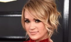 Carrie Underwood at 2017 Grammy Awards