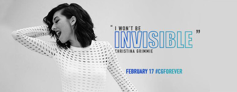 Christina Grimmie Invisible single promo
