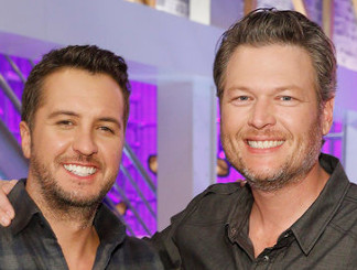 Luke Bryan and Blake Shelton from The Voice Season 12
