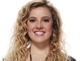 Ashley Levin of Team Blake Shelton on The Voice Season 12 (NBC Photo)