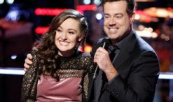 Caroline Sky is stolen during The Voice Season 12 battle round (NBC Photo)