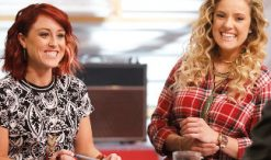 Casi Joy and Ashley Levin of The Voice Season 12. (NBC Photo)