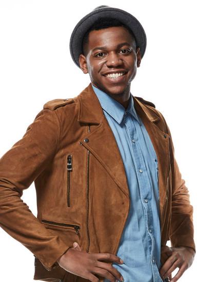 Chris Blue of Team Alicia Keys on The Voice Season 12 (NBC Photo)