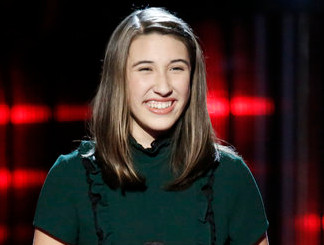 Hanna Eyre of The Voice Season 12 (NBC Photo)