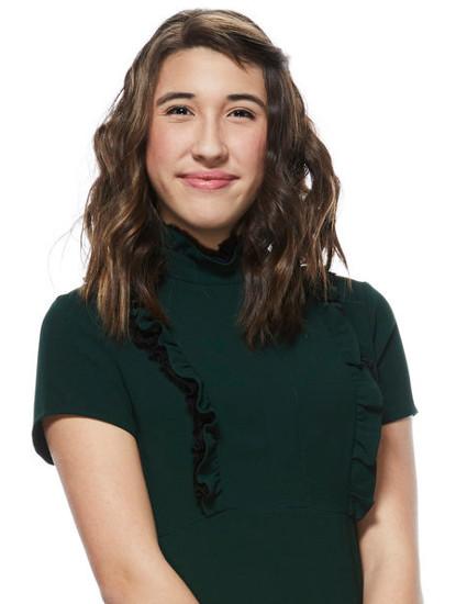 Hanna Eyre of Team Adam Levine on The Voice Season 12 (NBC Photo)