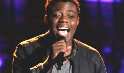 Quizz Swanigan of The Voice Season 12 (NBC Photo)