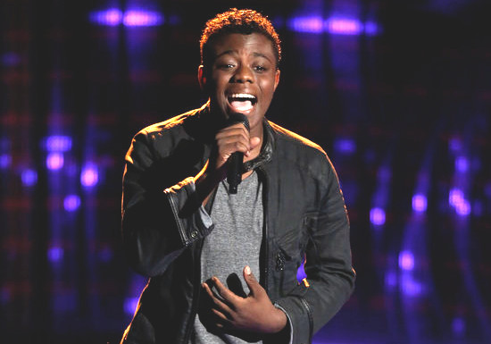 Quizz Swanigan is the youngest contestant on Season 12 of The Voice. (NBC Photo)