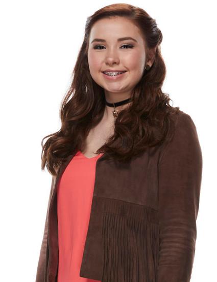 Savannah Leighton of The Voice Season 12