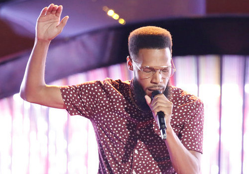 TSoul seemed to surprise The Voice coaching panel by deciding to join Team Blake Shelton for Season 12. (NBC Photo)