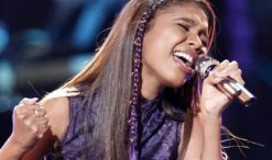 Aliyah Moulden of The Voice Season 12 (NBC Photo)