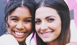 Aliyah Moulden and Lilli Passero of The Voice Season 12