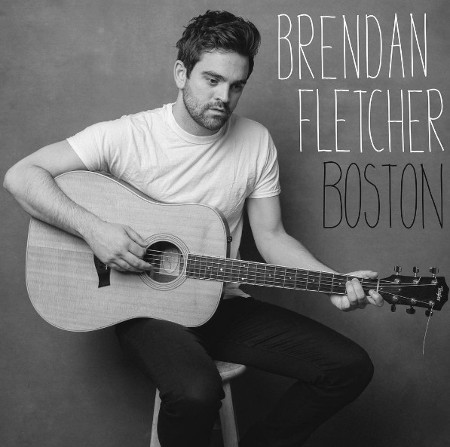 "The cover for Brendan Fletcher's new single, ""Boston."""