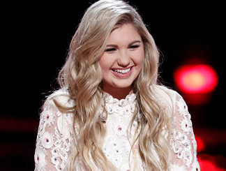 Brennley Brown of The Voice Season 12 (NBC Photo)